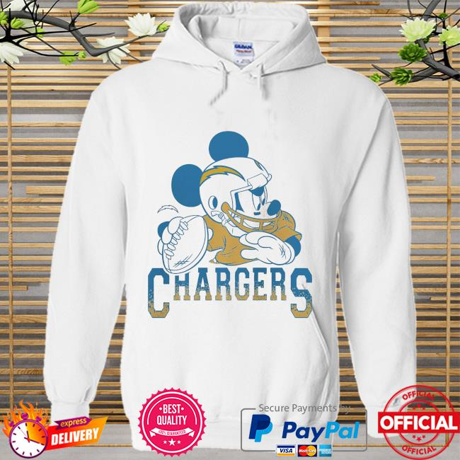 Los Angeles Chargers Disney Mickey Hoodie