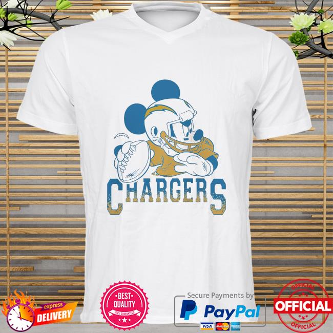 Los Angeles Chargers Disney Mickey shirt