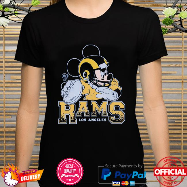 Los Angeles Rams Disney Mickey shirt