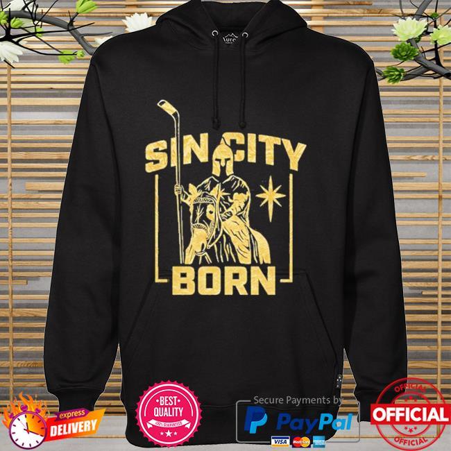 Mandalorian sin city born metallic hoodie