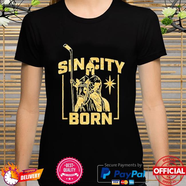 Mandalorian sin city born metallic shirt