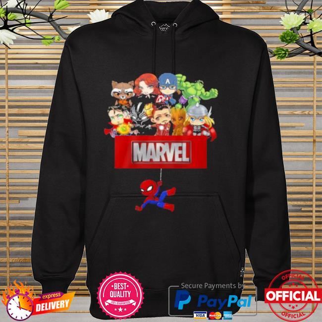 Marvel Hero Spider Man Avengers Shirt hoodie