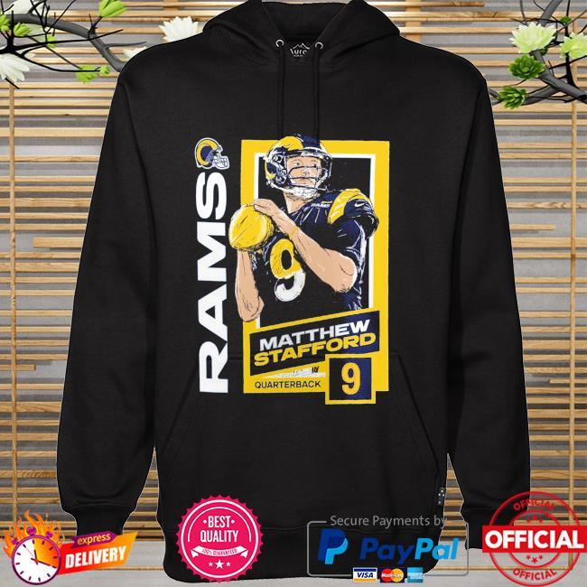 Matthew Stafford Los Angeles Rams Quarterback 9 hoodie
