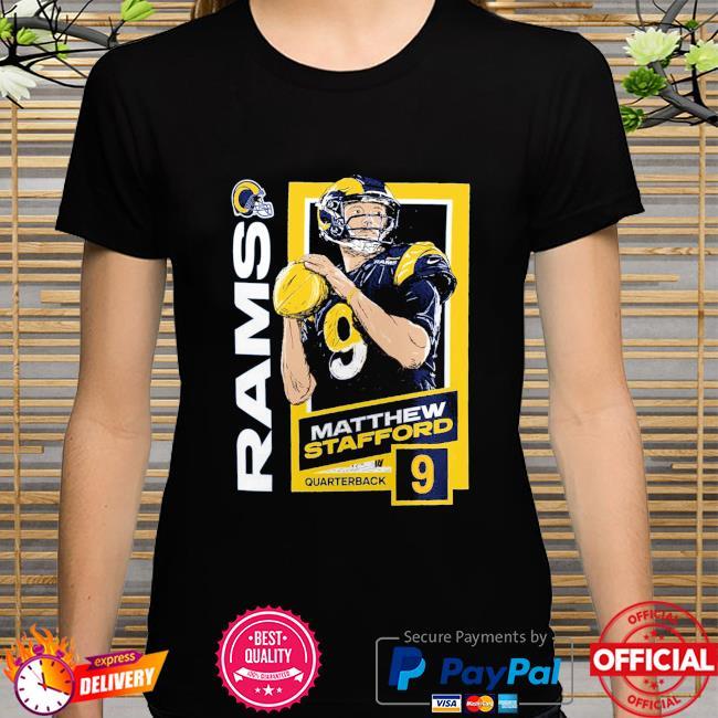 Matthew Stafford Los Angeles Rams Quarterback 9 shirt