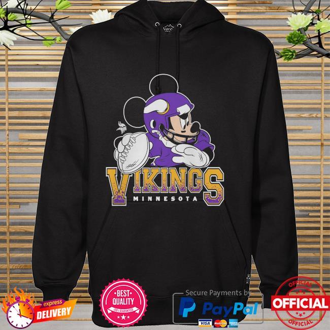 Minnesota Vikings Disney Mickey hoodie