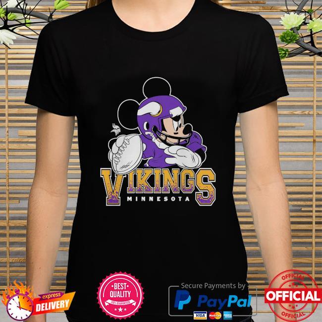 Minnesota Vikings Disney Mickey shirt