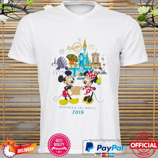 Minnie and mickey mouse walt disney world shirt