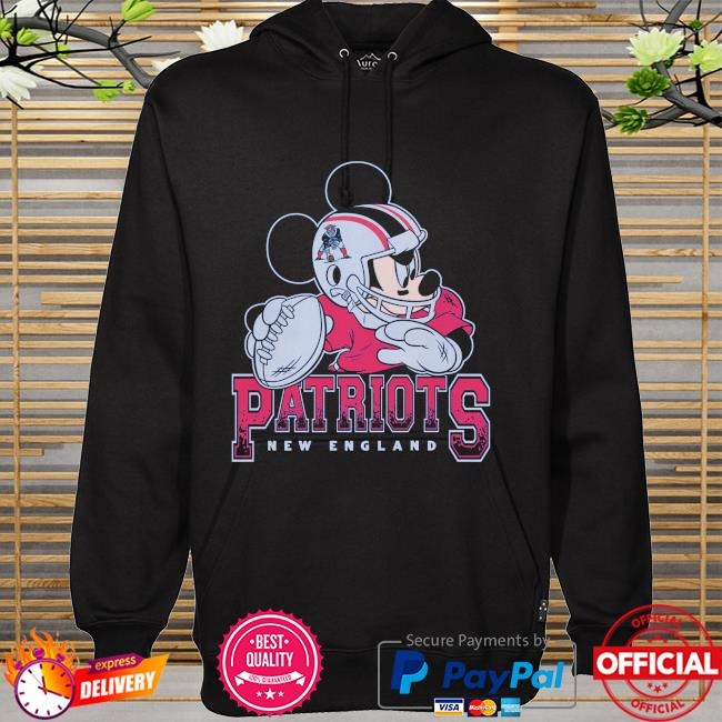 New England Patriots Disney Mickey hoodie