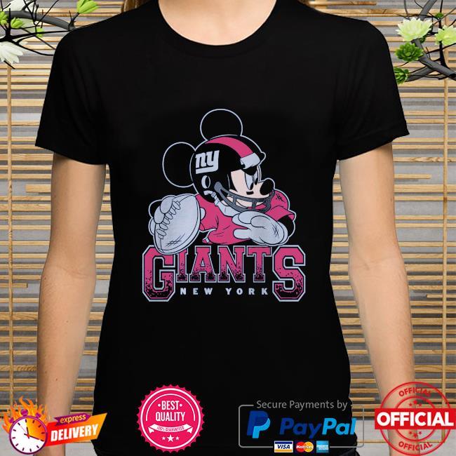 New York Giants Disney Mickey shirt