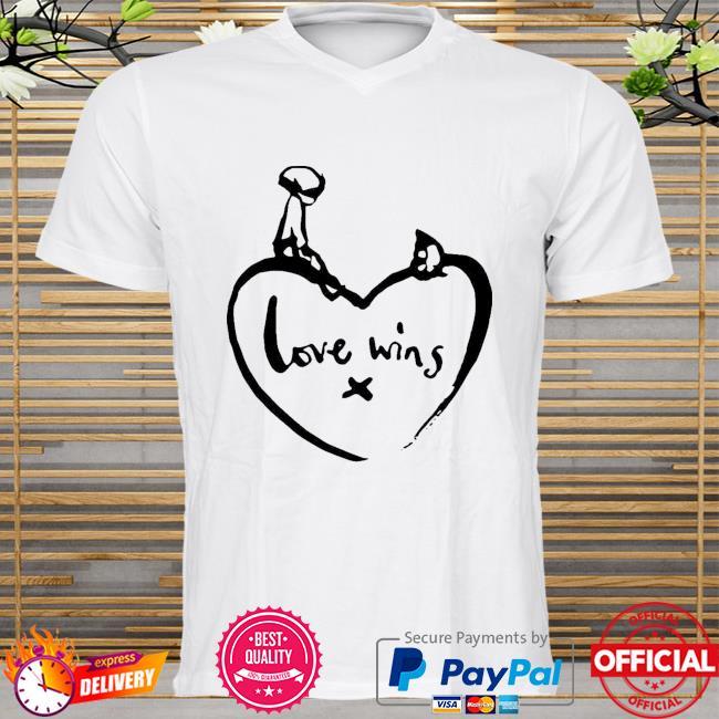 Original love wins shirt comic relief shirt