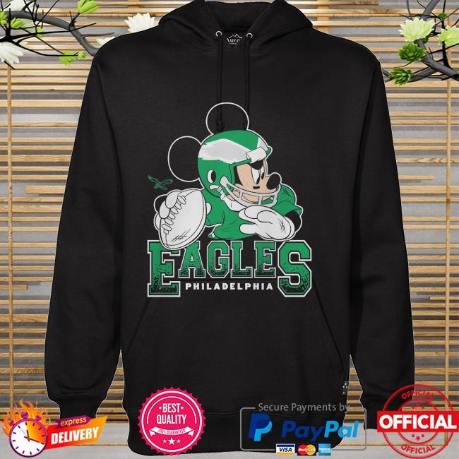 Philadelphia Eagles Disney Mickey hoodie