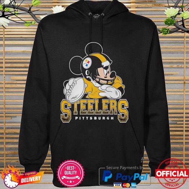 Pittsburgh Steelers Disney Mickey hoodie