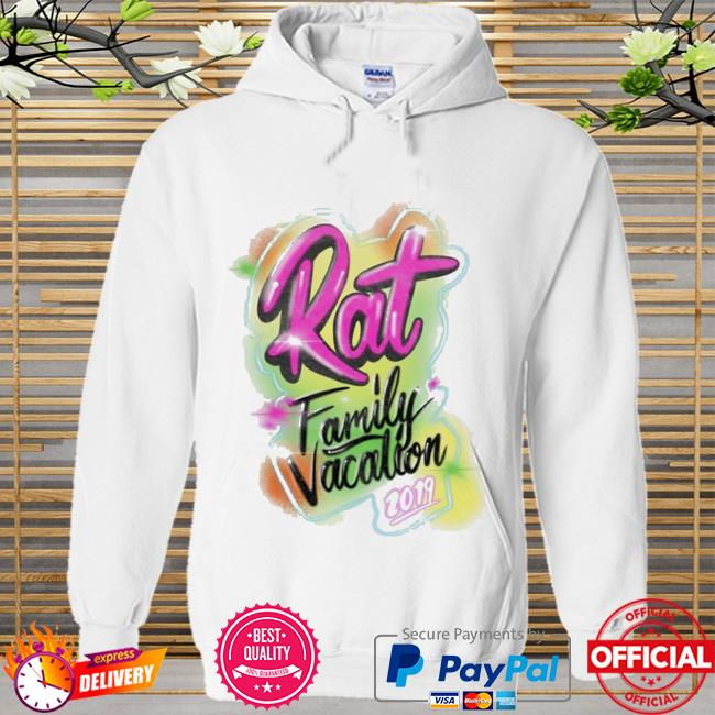 Rat family vacation Hoodie