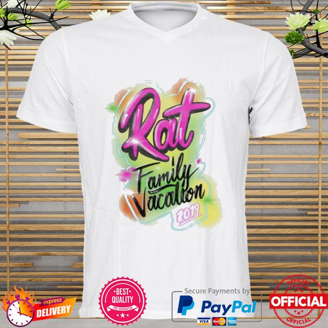 Rat family vacation shirt