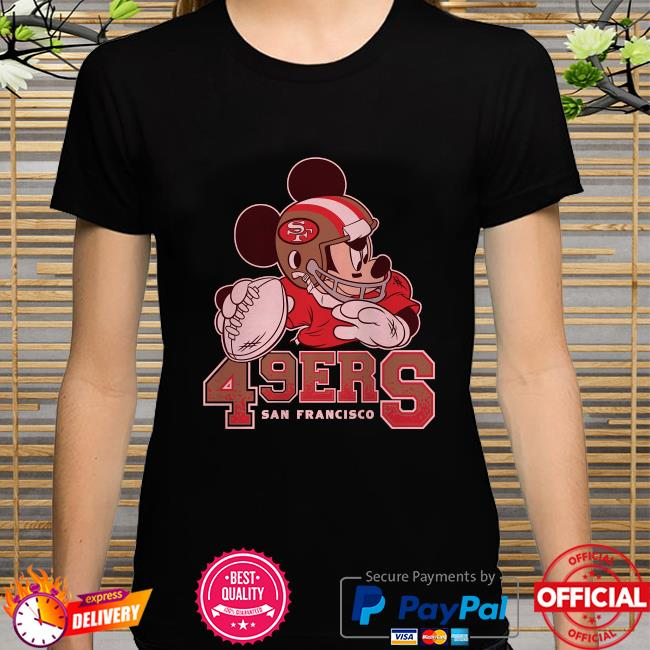 San Francisco 49ers Disney Mickey shirt