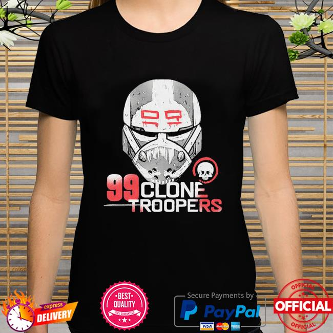 Star Wars The Bad Batch 99 Clone Troopers shirt