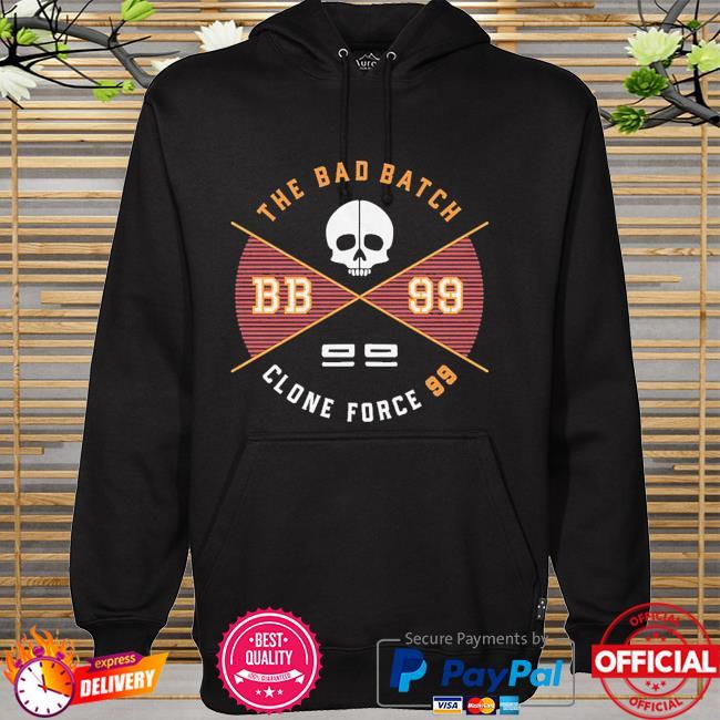 Star Wars The Bad Batch clone force 99 Badge hoodie