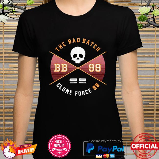 Star Wars The Bad Batch clone force 99 Badge shirt