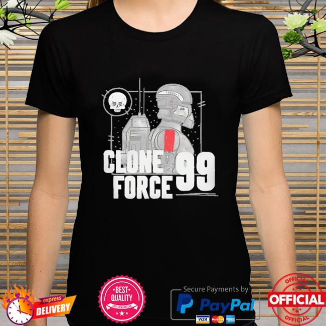 Star Wars The Bad Batch Clone Force 99 G shirt