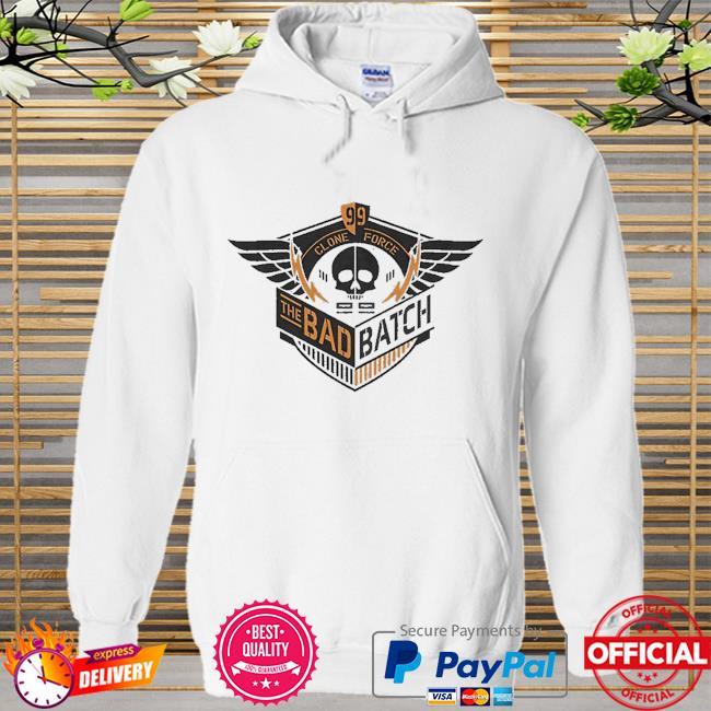 Star Wars The Bad Batch Clone Force 99 skull Hoodie