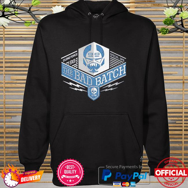 Star Wars The Bad Batch Clone force 99 The Special Ops hoodie