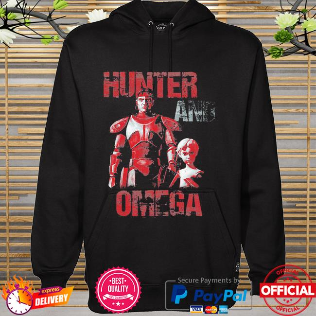 Star Wars The Bad Batch Hunter And Omega hoodie