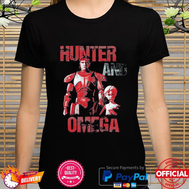 Star Wars The Bad Batch Hunter And Omega shirt