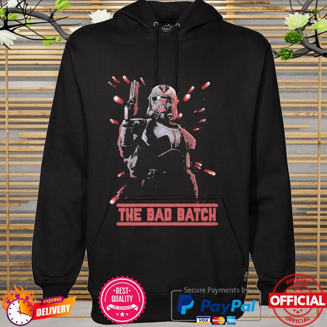 Star Wars The Bad Batch Hunter Batch hoodie