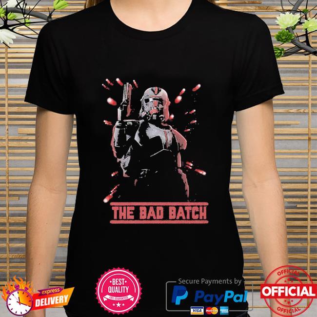 Star Wars The Bad Batch Hunter Batch shirt