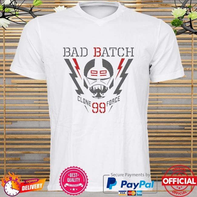 Star Wars The Bad Batch Lightning Clone Force 99 shirt
