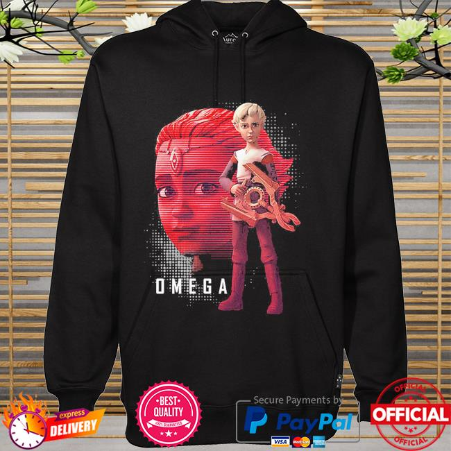 Star Wars The Bad Batch Omega The Face hoodie