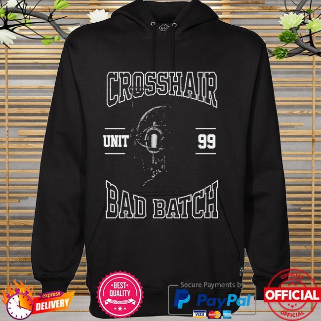 Star Wars The Bad Batch Unit 99 Crosshair hoodie