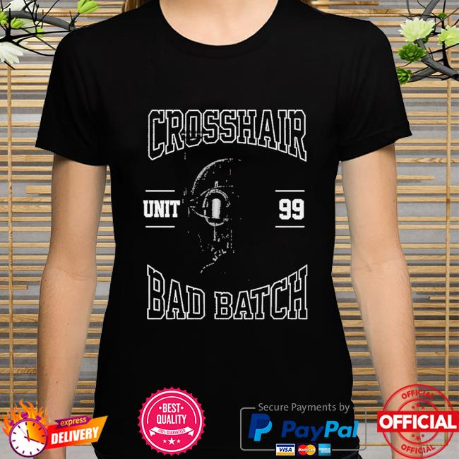 Star Wars The Bad Batch Unit 99 Crosshair shirt