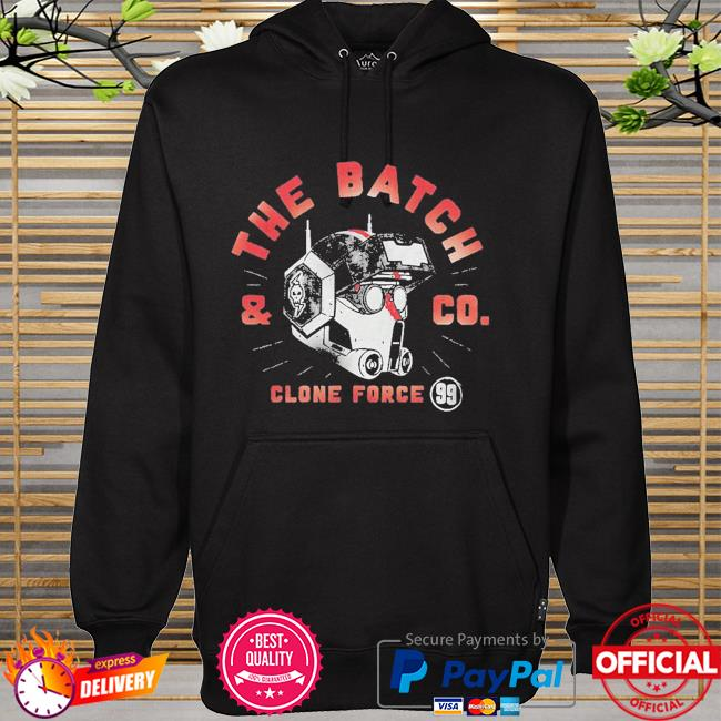 Star Wars The Clone force 99 Bad Batch and Co hoodie