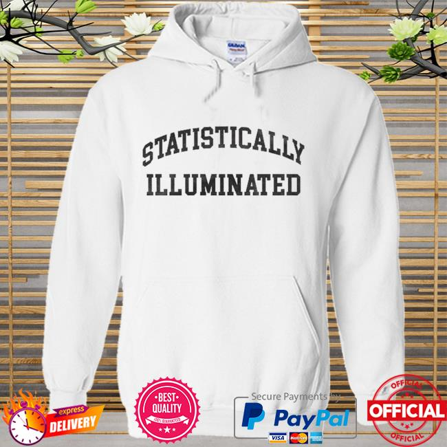 Statistically illuminated Hoodie