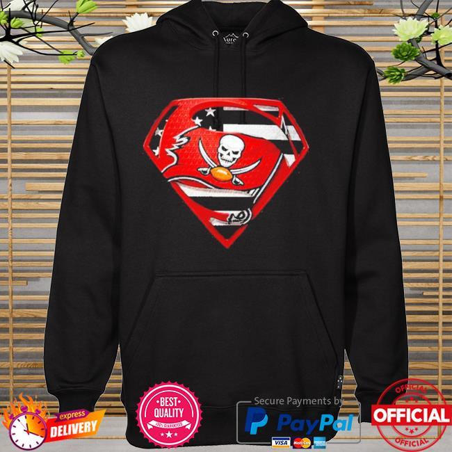 Superman tampa bay buccaneers champions super bowl liv American flag hoodie