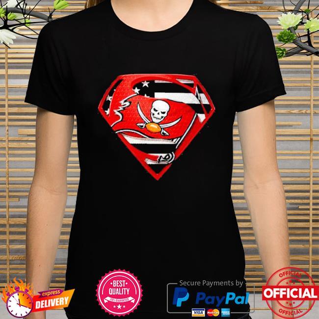 Superman tampa bay buccaneers champions super bowl liv American flag shirt