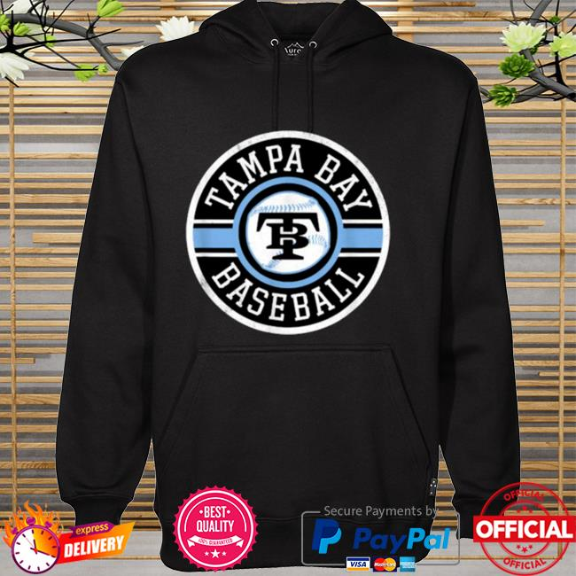 Tampa Bay Baseball Retro Badge Ray Shirt hoodie