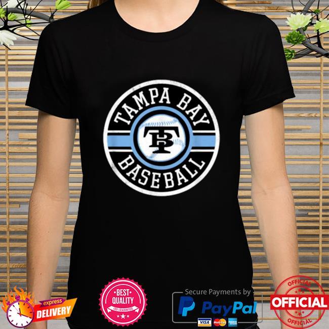 Tampa Bay Baseball Retro Badge Ray Shirt