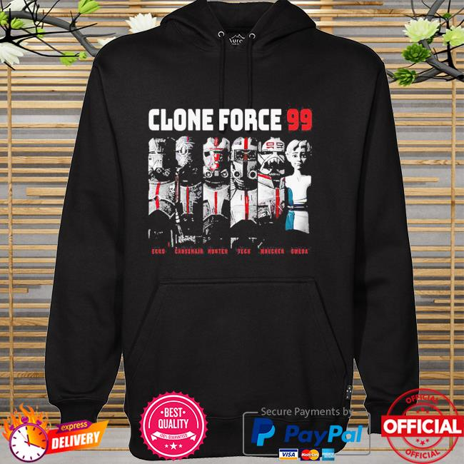 The Bad Batch Clone Force 99 Group Hot Topic Exclusive hoodie