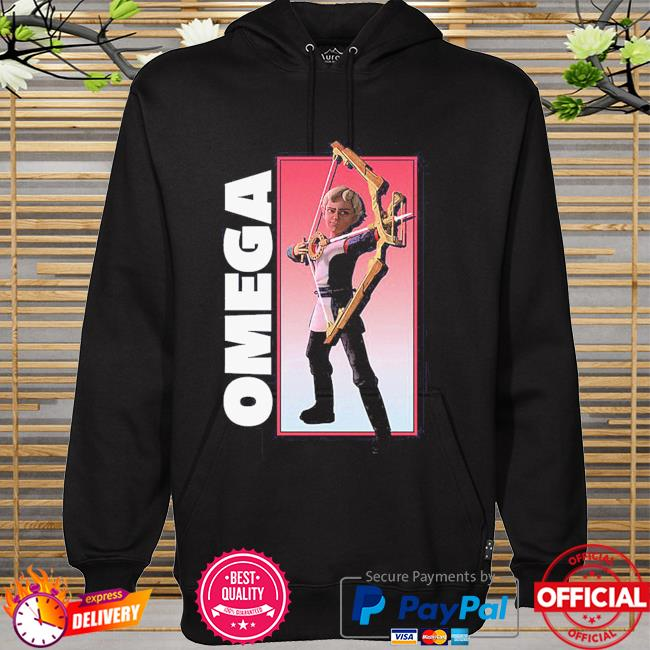 The Bad Batch Omega Bow Pose hoodie