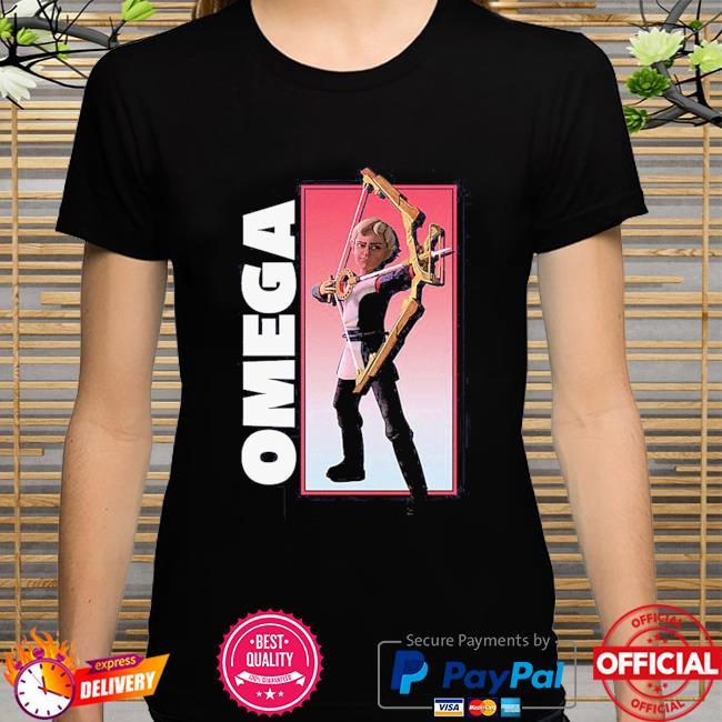 The Bad Batch Omega Bow Pose shirt
