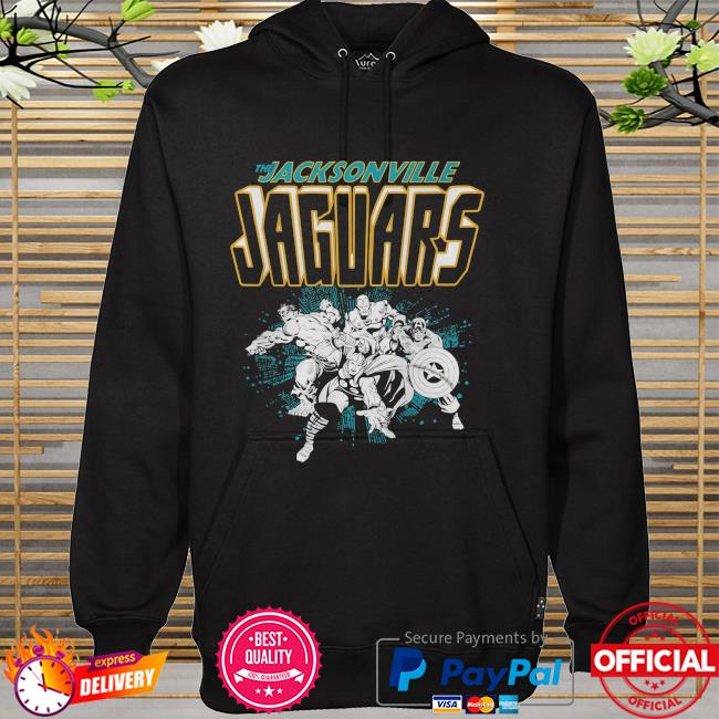 The Jacksonville Jaguars Marvel hoodie