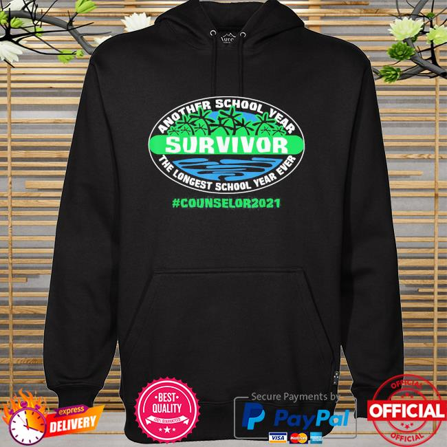 The longest school year ever counselor 2021 hoodie