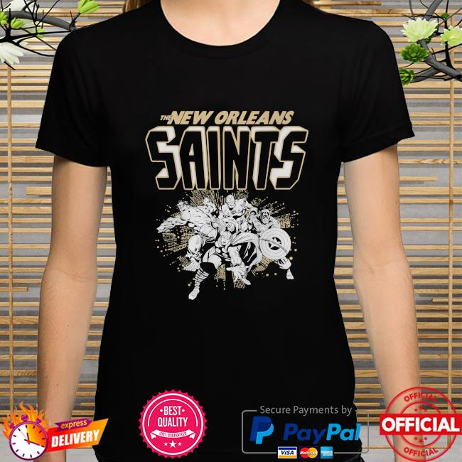 The New Orleans Saints Marvel shirt