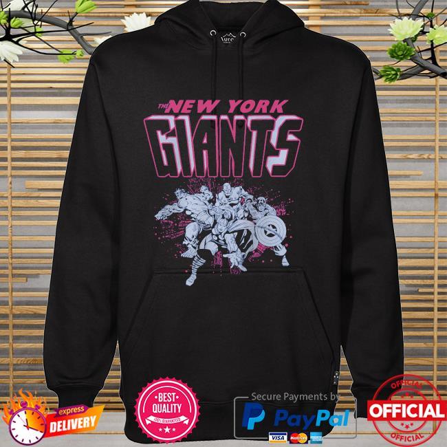 The New York Giants Marvel hoodie