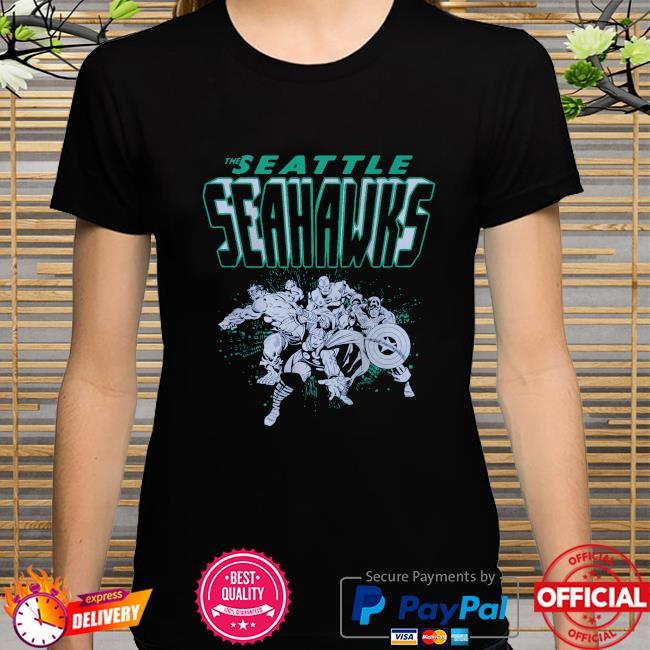 The Seattle Seahawks Marvel shirt