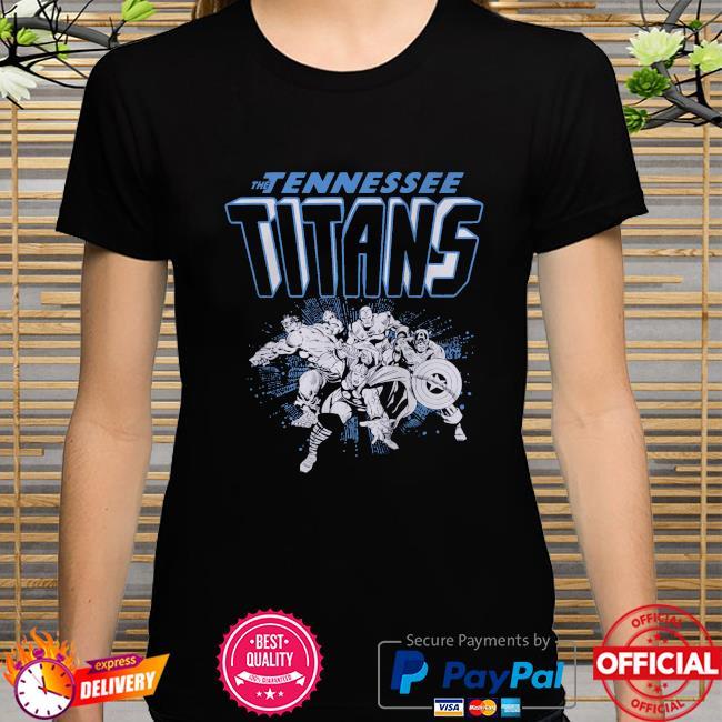 The Tennessee Titans Marvel Avengers shirt