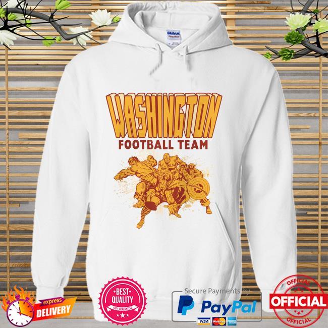 The Washington Football Team Marvel Avengers Hoodie