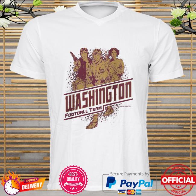 Washington Football Team Rebels Star Wars shirt